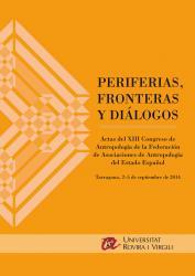 Cover for Actas del XIII Congreso de Antropología de la FAAEE