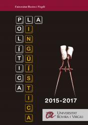Cover for Pla de política lingüística de la Universitat Rovira i Virgili per al 2015–2017