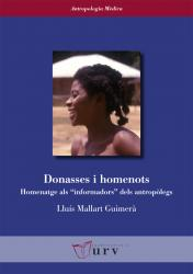"""Cover for Donasses i homenots: Homenatge als """"informadors"""" dels antropòlegs"""