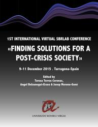 Cover for Finding Solutions for a Post-Crisis Society: 1st International Virtual SBRLab Conference