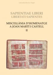 Cover for Miscel·lània d'homenatge a Joan Martí i Castell (II)