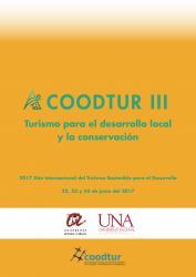 Cover for Turismo para el desarrollo local y la conservación: III Congreso de COODTUR
