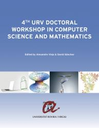 Cover for 4th URV Doctoral Workshop in Computer Science and Mathematics