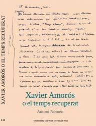 Cover for Xavier Amorós o el temps recuperat