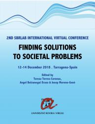 Cover for Finding Solutions to Societal Problems: Proceedings of the 2nd International Virtual SBRlab Conference