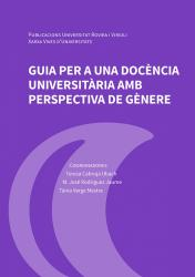 Cover for Guia per a una docència universitària amb perspectiva de gènere