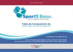 Cover for Sports Base: Tabla de composición de suplementos de nutrición deportiva