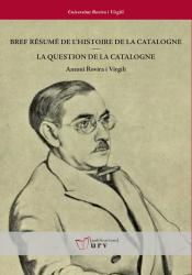Cover for Breu resum de la història de Catalunya /  La qüestió de Catalunya