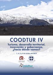 Cover for COODTUR IV. Turismo, desarrollo territorial, innovación y gobernanza, ¿hacia donde vamos?