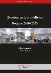 Cover for Recerca en Biomedicina: Resums 2008–2015
