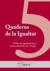 Cover for II Plan de Igualdad de la URV