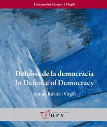 Cover for Defensa de la democràcia